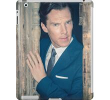 Cumberbatch is watching you iPad Case/Skin