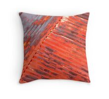 Rusted Roff Throw Pillow