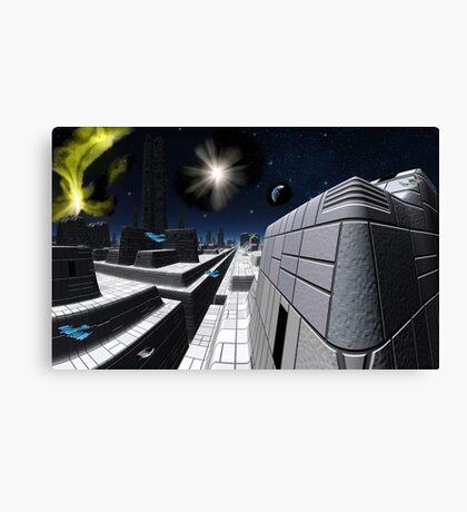 Star Cruiser Excalibur Canvas Print