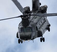 Chinook Helicopter by Nigel Bangert