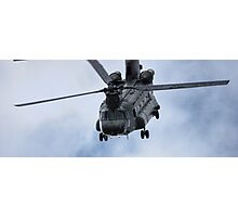 Chinook Helicopter Photographic Print