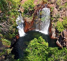 Florence Falls, Litchfield National Park, Northern Territory, Australia by Cindy Ritchie