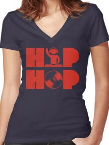 hh apparel  Women's Fitted V-Neck T-Shirt