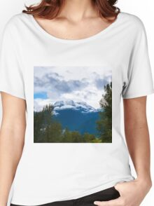 Begbie  Revelstoke BC Women's Relaxed Fit T-Shirt