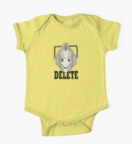Delete One Piece - Short Sleeve