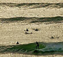 On Golden Waves by Helen Vercoe