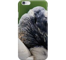 Wooden Stork iPhone Case/Skin
