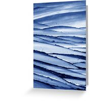 Cracked Ice Greeting Card