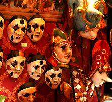 Masks of Carnival by pequot99