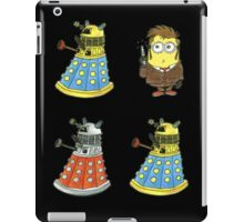 10th Minion Doctor and Daleks iPad Case/Skin