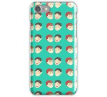 Tiled JeanMarco iPhone Case/Skin