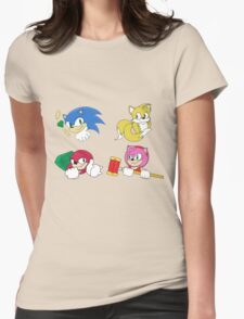 Team Sonic Womens Fitted T-Shirt