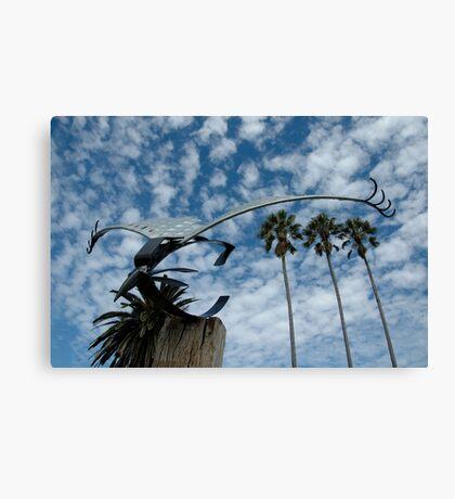 Bird Sculpture,Bermagui,Australia 2015 Canvas Print