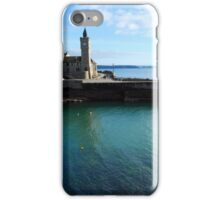 Porthleven clock tower iPhone Case/Skin