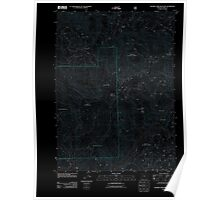 USGS Topo Map Oregon Soldier Camp Mountain 20110810 TM Inverted Poster