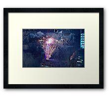 Fireworks NYE #1 Framed Print