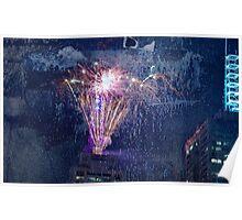 Fireworks NYE #1 Poster