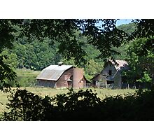 Barns Along the New Photographic Print