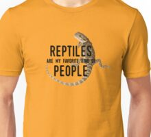 Reptiles Are My Favorite Kind of People Unisex T-Shirt