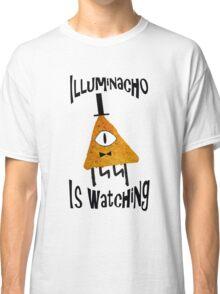 Bill Cipher Dorito Illuminacho Is Watching - Black Classic T-Shirt