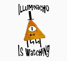 Bill Cipher Dorito Illuminacho Is Watching - Black Unisex T-Shirt