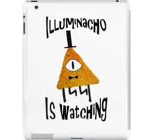 Bill Cipher Dorito Illuminacho Is Watching - Black iPad Case/Skin