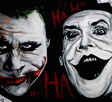 Faces of Joker by abacaart