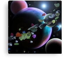 Asteroid Belt Canvas Print