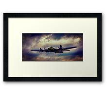 Sally B Fly Past Framed Print
