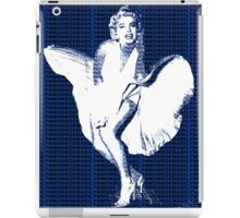 Marilyn Monroe Iconic White Dress Blowing Image  iPad Case/Skin