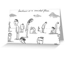 lonely place Greeting Card