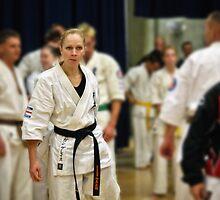 Karate Girl by Sebastian Chalupa
