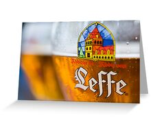 Leffe Blond Greeting Card