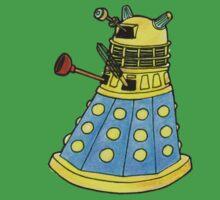 Blue Dalek Kids Tee