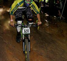 Downhill Racing at Highland Mountain Bike Park by A. Kakuk