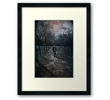 These Paths We Walk.... Framed Print