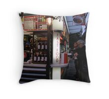Fast food with a difference Throw Pillow