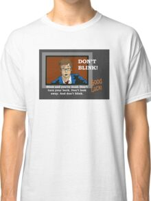 Doctor Who - Don't Blink Classic T-Shirt