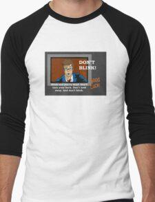 Doctor Who - Don't Blink Men's Baseball ¾ T-Shirt