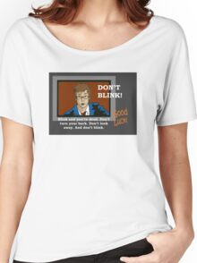 Doctor Who - Don't Blink Women's Relaxed Fit T-Shirt