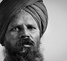 Portrait of an Indian man by thesiracusas