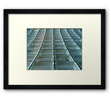 Glass Blocks Framed Print