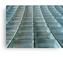 Glass Blocks Metal Print