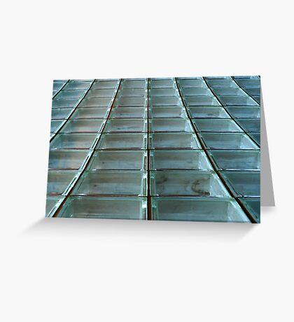 Glass Blocks Greeting Card