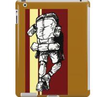 Backpacker - Red/Yellow iPad Case/Skin