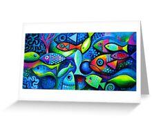 Colourful fish  Greeting Card