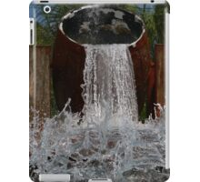 Barrels of Water! iPad Case/Skin