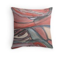 Between Reality and Fantasy Lies the Shadow Throw Pillow