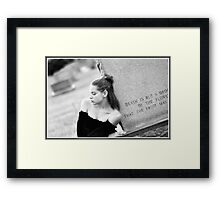 Rememberence  Framed Print