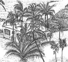 Beach House by W. H. Dietrich